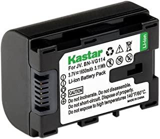 Kastar BN-VG114 Battery (1-Pack) Replacement for JVC BN-VG107 BN-VG107U BN-VG108U BN-VG108E BN-VG114 BN-VG114U BN-VG114US Rechargeable Lithium-ion Battery