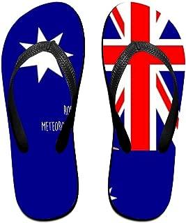 Flip Flops Groundhog In Australian Flag Unisex Trendy Print Slippers Beach Sandal