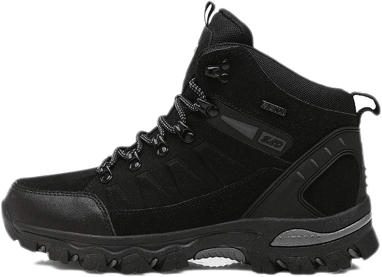 Hiking shoes Men Waterproof Walking shoes Non Slip Trekking Autumn Winter high Help Outdoor Non-Slip wear-Resistant