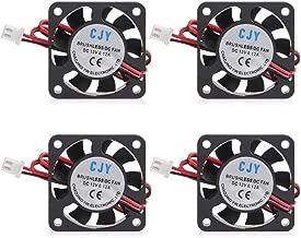 YOTINO 4-Pack 4010 Fan 12V 0.12A DC Brushless Cooling Fan for 3D Printer CR-10, CR-10S,CR-10 S4,S5 (40 x 40 x 10mm)