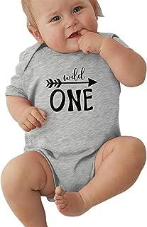 Wnocdmv Unisex University of Mi-a-mi Baby Jersey Bodysuit Cotton Bodysuit