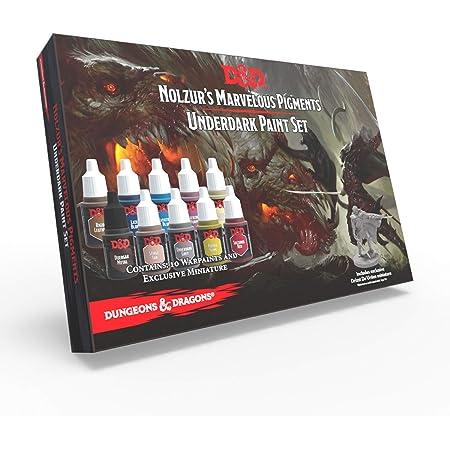 The Army Painter   Dungeons & Dragons Underdark Paint Set   Nolzur's Marvelous Pigments   10 Peintures Acryliques adaptées à la Peinture sur Figurine pour Jeux de Rôle, Jeux de Société et Wargames.
