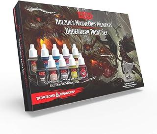 The Army Painter | Dungeons & Dragons Underdark Paint Set | Nolzur's Marvelous Pigments | 10 Peintures Acryliques adaptées...