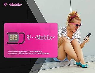 Simtrip T-Mobile - Tarjeta SIM prepagada de EE. UU. 5 Dyas