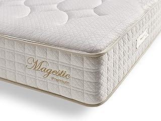 Living Sofa Matelas 140x190 cm Magestic®   Double Technologie: Ressorts ensachés et Mousse HR Haute Densité   30 cm d'Epai...