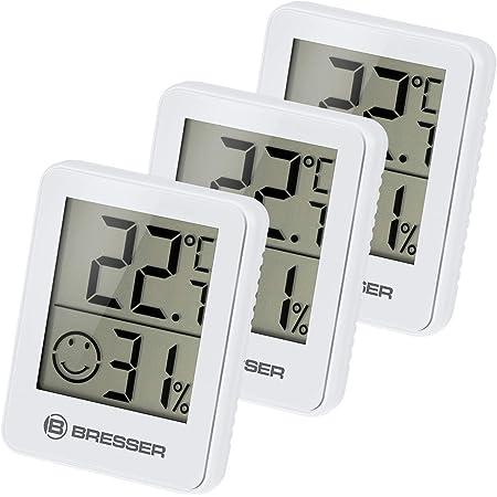 Noklead Digitales Thermo Hygrometer Tragbares Thermometer Hygrometer Innen Mit Hohen Genauigkeit Temperatur Und Luftfeuchtigkeitsmesser Für Raumklimakontrolle Raumluftüerwachtung Klima Monitor Garten