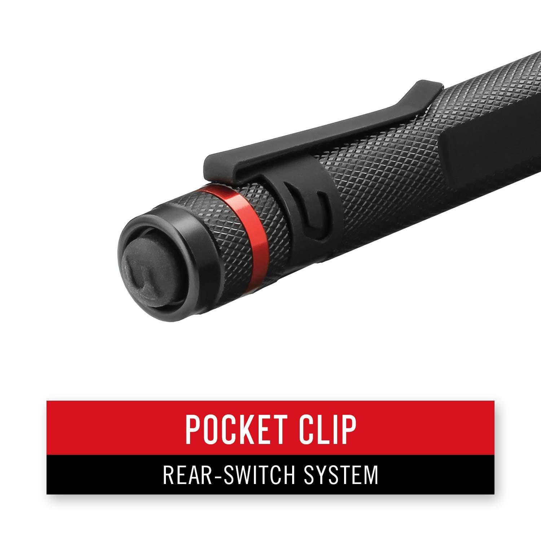 Coast G20 Inspection Beam LED Penlight with Adjustable Pocket Clip and Consistent Edge-To-Edge Brightness, Black, 54 lumens