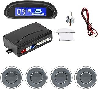 MEIKAI Auto Parking Radar Monitor Detector System Auto Auto Parktronic LED Parkeersensor Met 4 Sensoren Omgekeerde Back-up...