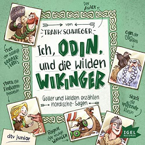 Couverture de Ich, Odin, und die wilden Wikinger