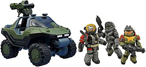 Minimates Halo Exclusive Set M12 LAAV Warthog with M68 ALIM Gauss Cannon and Noble Team