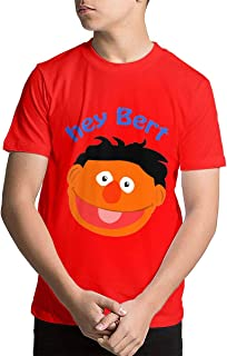 Hey Bert Teenage T-Shirt Short Sleeve Cotton Crewneck T-Shirt for Boys