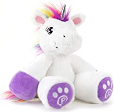Plushible Unicorn Stuffed Animal for Kids - Big Stuffed Unicorn for Girls - 18