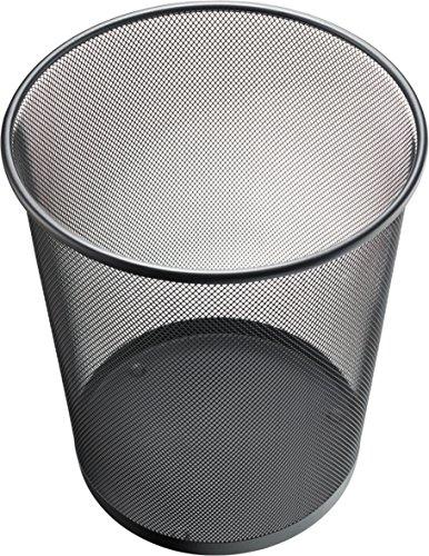 Helit H2518595 cestinate Mesh, 15 L, in bianco e nero, nero
