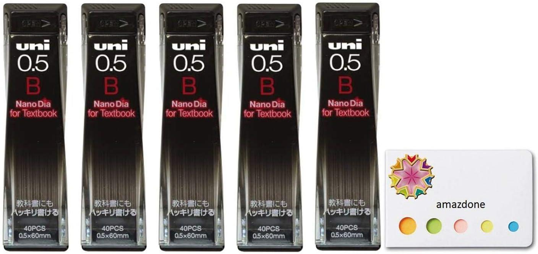 【Uni NanoDia Mechanical Pencil Leads Fresno Mall Cheap mail order shopping Textbook B 0.5mm For