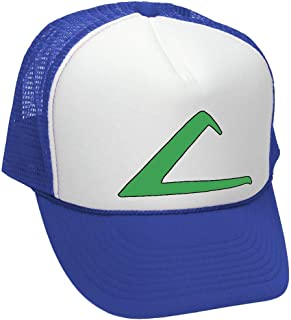 9eea3afb11e ASH Ketchum Cosplay Costume Trainer Cartoon Fun - Unisex Adult Trucker Cap  Hat