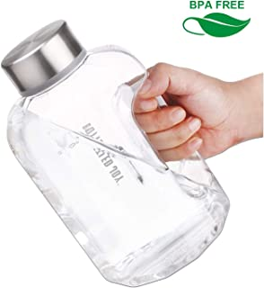 LEZFIT Water Jug 2.2L Big Water Bottle Large Capacity BPA Free Leakproof Half