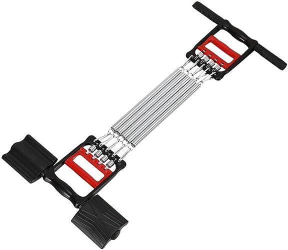 JSPJLL Bras de Poitrine extenseur de Main Bras de Traction Barre Pull Exercice de Musculation 5 Ressorts de la Poitrine à la Maison Exercice Durable