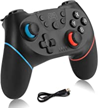 Olimoxi Wireless Switch Pro Controller for Nintendo,Remote Pro Controller Gamepad Joypad,Joystick for Nintendo Switch Console, Supports Gyro Axis, Turbo and Dual Vibration