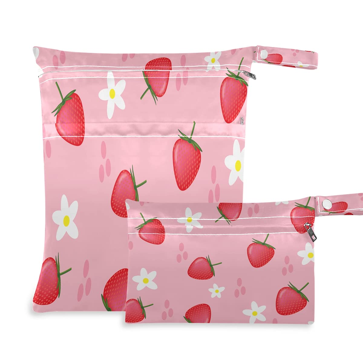Wet and Dry Bag for San Jose Mall Baby Super Special SALE held Sets Diaper Cloth Waterproof Reusa 2pcs