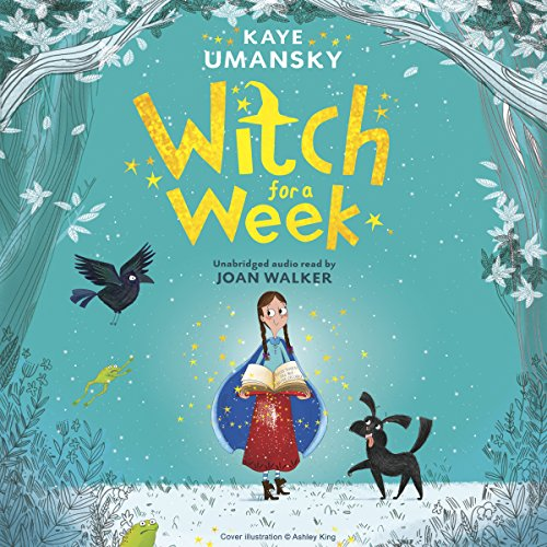 Witch for a Week audiobook cover art
