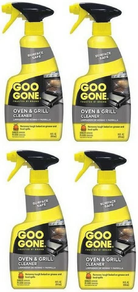 35% OFF Goo Gone Oven and Grill 4-pack oz 14 Long-awaited fl Cleaner