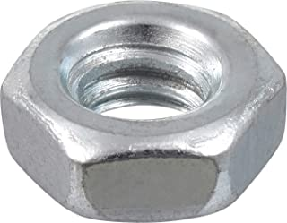 The Hillman Group 140015 Hex Machine Screw Nut, 6-Inch by 32-Inch, 100-Pack