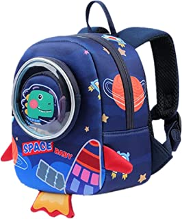 Toddlers Backpack Kids Dinosaur Bag for Preschool School Travel Circus Backpack for 1~5 Years Child, Blue