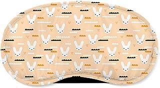 Sky Love Bunny Orange - Sleeping Mask - Sleeping Mask