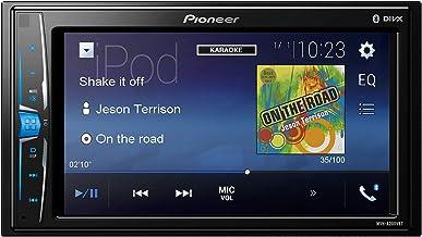 Pioneer MVH-A200VBT - Receptor multimedia para pantalla táctil de coche, negro, 6.2