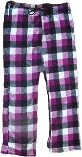 Womens Fleece Pajama Sleep Lounge Pants