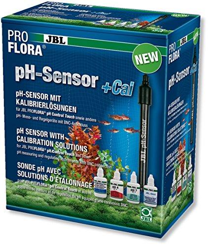 JBL pH-sensor + Cal 63188 PH-elektrode met BNC-aansluiting met kalibratieoplossing