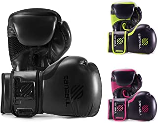 Sanabul Essential Gel Boxing Kickboxing Training Gloves