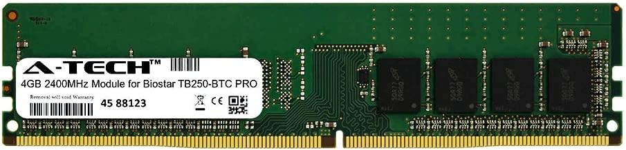 A-Tech 4GB Module for Biostar TB250-BTC PRO Desktop & Workstation Motherboard Compatible DDR4 2400Mhz Memory Ram (ATMS391673A25815X1)