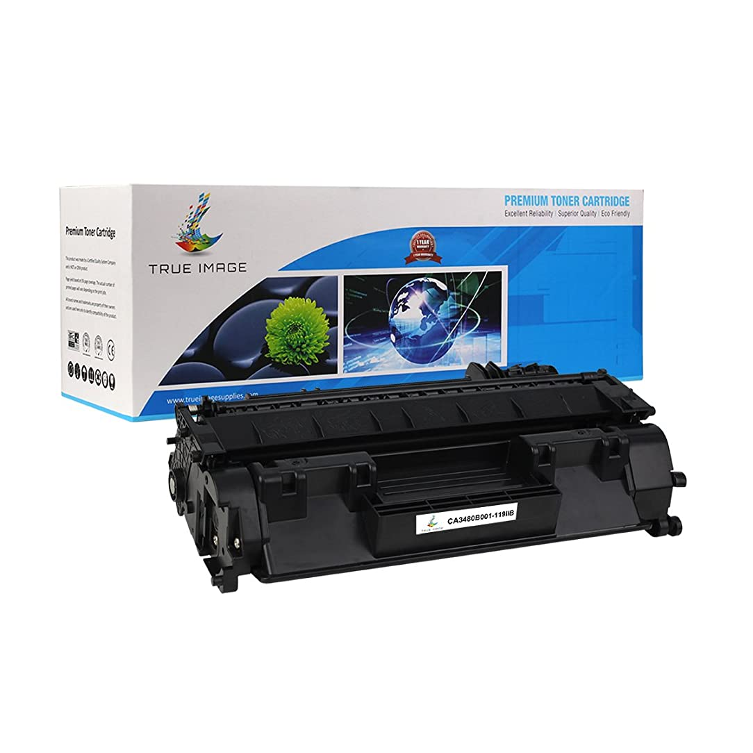 TRUE IMAGE Compatible Canon 119II 3480B001AA Toner Cartridge (Black, 1 Pack)