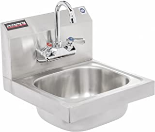 DuraSteel Stainless Steel Hand Sink with 15