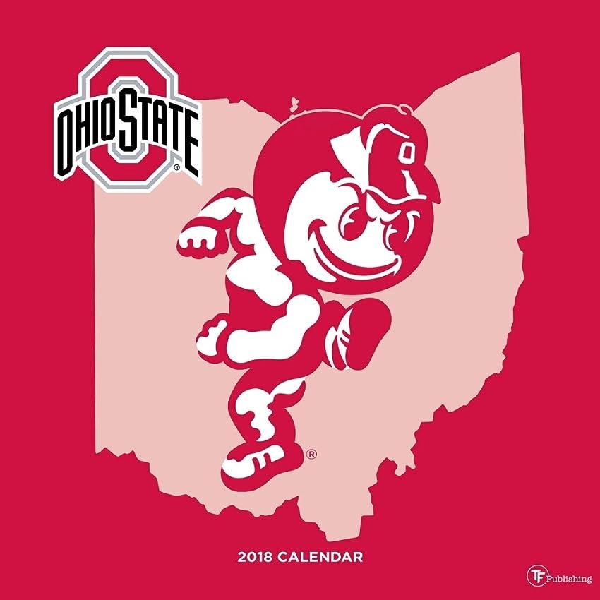 ブラシ宣教師クリア2018?Ohio State壁カレンダー