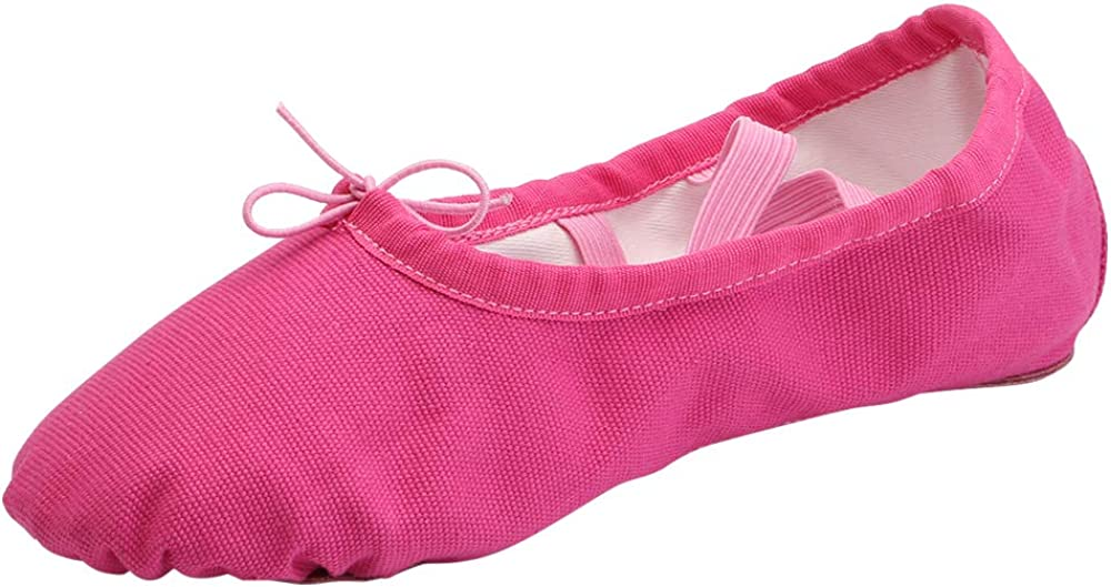 Women's Canvas Ballet Slippers Practice Shoes Popularity Yoga Split Inventory cleanup selling sale Be Flat