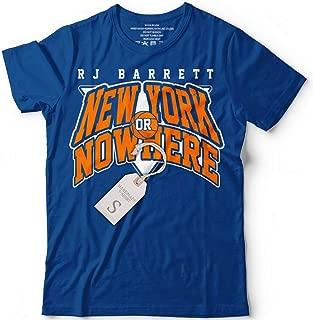 New-York Or Nowhere RJ-Barrett Basketball Jersey Customized Handmade T-Shirt Hoodie_Long Sleeve_Tank Top_Sweatshirt