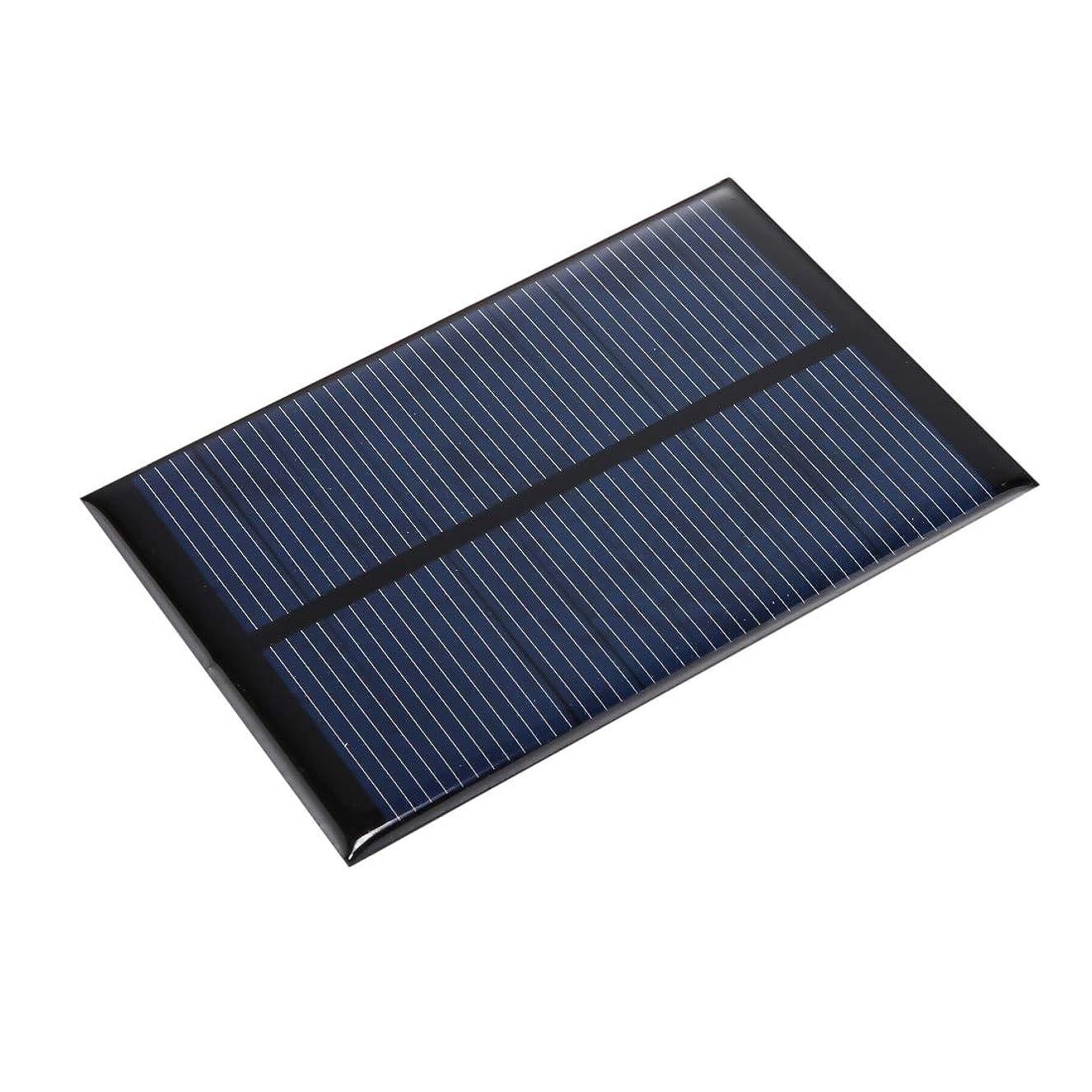 混乱場所座るポータブル折りたたみソーラーパネル 5V 0.8W 150mAh DIY太陽電池モジュールソーラーパネルモジュール電池、サイズ:101 x 69mm マウサー日本