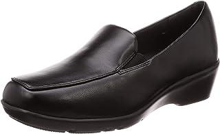 赞助广告- Lady woker 亚瑟士商务 相当于3E 4厘米坡跟 平底浅口鞋 LO-16890 女士