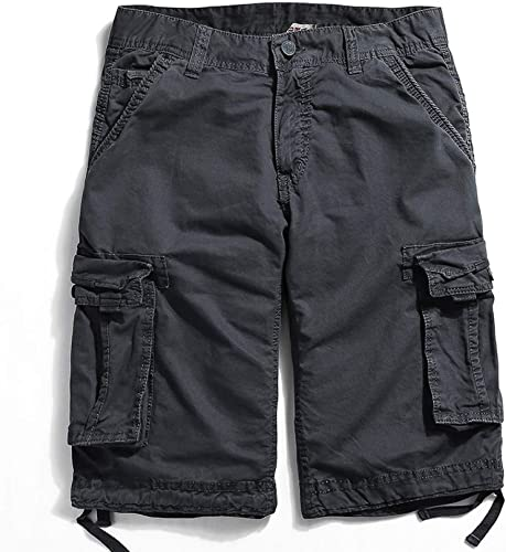 TOPDCO Drop Shipping été Hommes voiturego courtes Armée Vert sacgy Zippers Poche Pantalon Court 29-38 Drop Shipping
