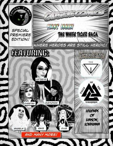 Catseye Comics Premiere: Black and White Edition: The White Tiger Saga