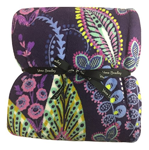 Vera Bradley Throw Blanket (Batic Leaves)