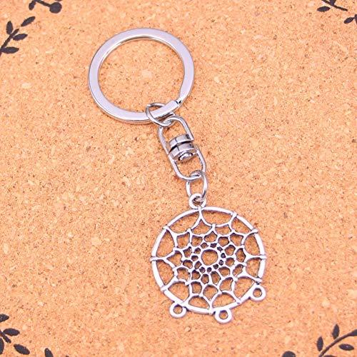 HXYKLM modesieraden accessoires van modesieraden, kroonluchter in zilveren hanger sleutelhanger voor dames heren geschenken sleutelhanger