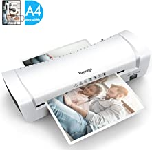 Toyuugo Laminator Machine, Portable A4 Thermal Laminating Machine with Hot and Cold..