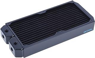 Alphacool 14169 NexXxoS XT45 Full Copper Radiator   CPU Wasserkühlung   280mm, Kupfer / Schwarz
