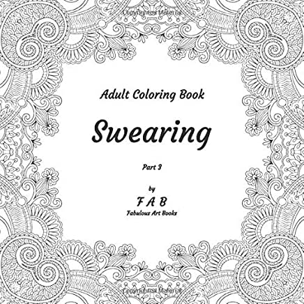 Adult Coloring Book - Swearing - Part 3