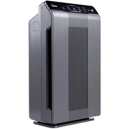 Winix 5300-2 purificador de aire con filtro de carbono True HEPA, PlasmaWave y reducción de olor, gris