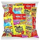 Bulk Assorted Fruit Candy - Starburst, Skittles, Swedish Fish, SweeTarts, Nerds, Sour Patch Kids, Haribo Gold-Bears Gummi Bears & Twizzlers (32 Oz Variety Fun Pack) by Variety Fun