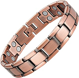 Double Strength Titanium Magnetic Therapy Bracelet For Arthritis Pain Relief